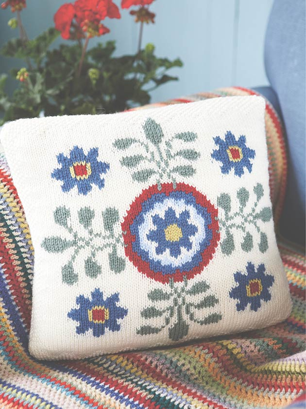 How To Knit: Intarsia and knitting with several colours