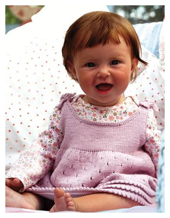 Knitting Pattern Baby Girl Pinafore : What would you knit for the Royal Baby?