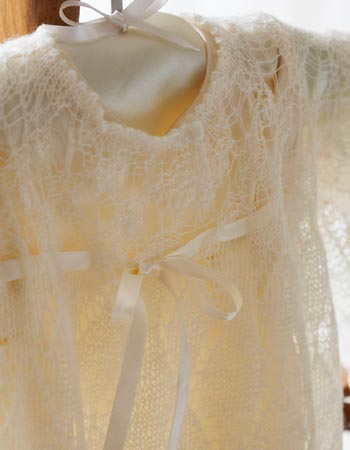 Knitted Christening Robe Womans Weekly