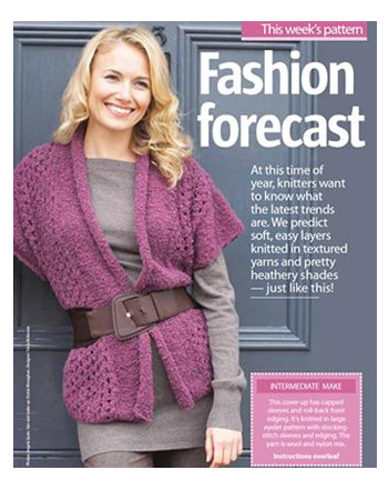 Free Knitting Pattern For A Gilet : Fashion ideas to knit and crochet