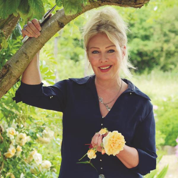 Kim Wilde- tips for a low maintenance garden