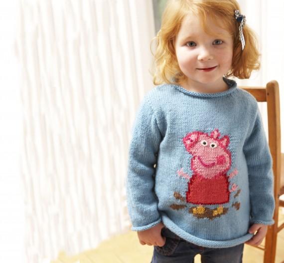 Knitting Pattern George Pig Jumper : Knitting for children: 7 top tips