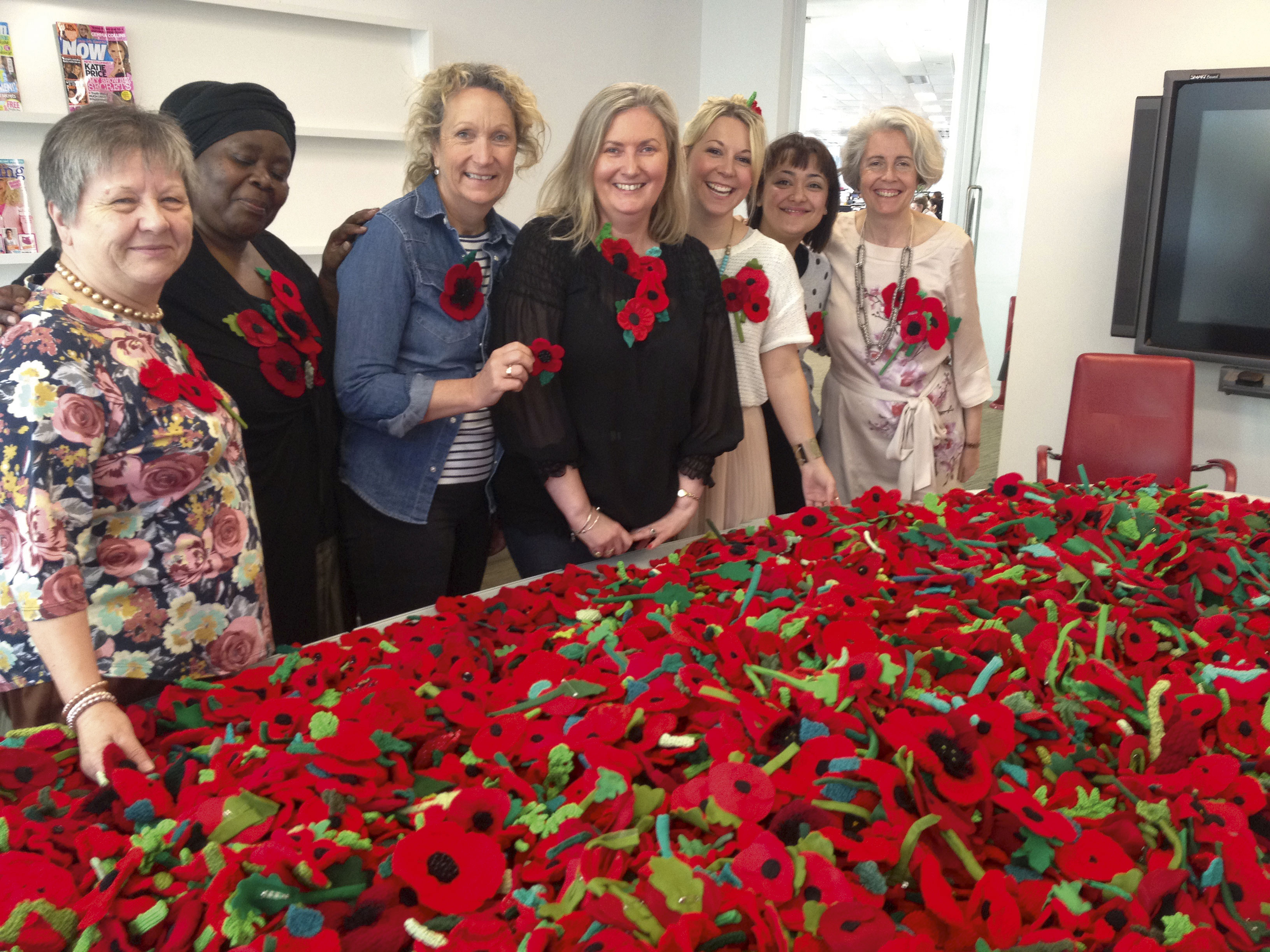 Woman's Weekly Poppy Wreath