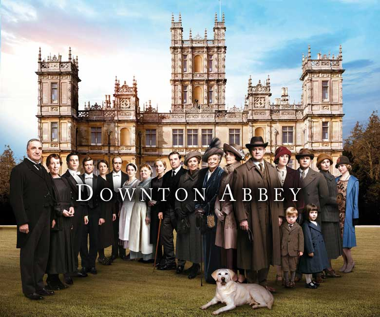 Downton Abbey vintage style inspires us to crochet, knit and sew