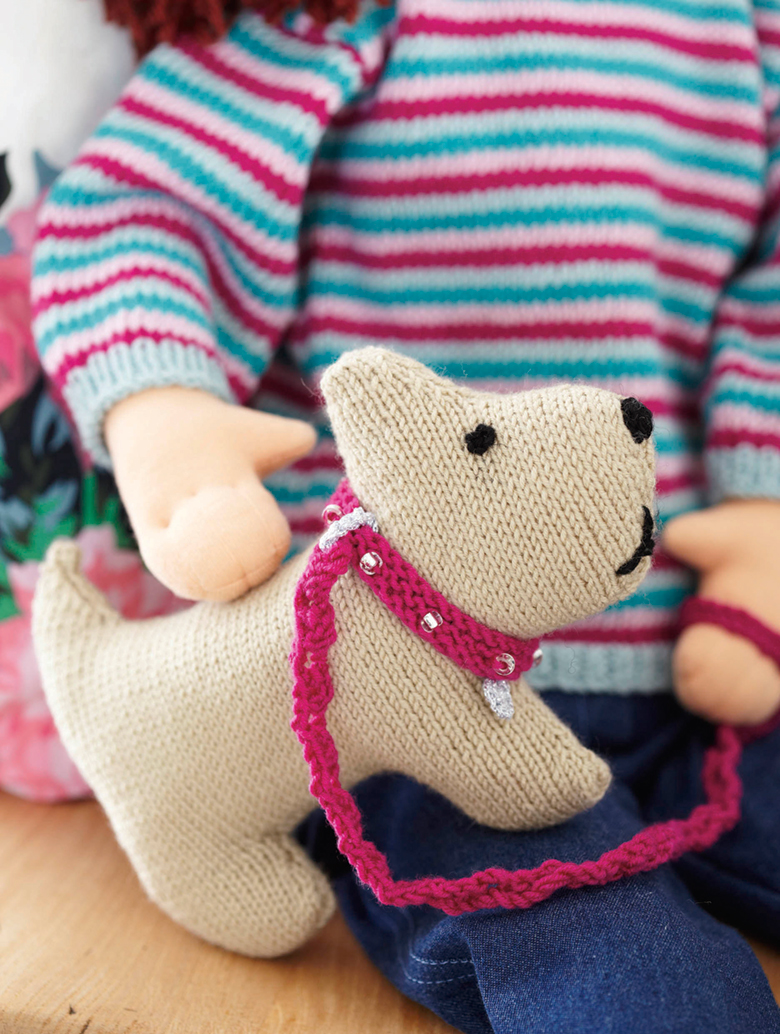 How to make animals look friendly when knitting toy faces