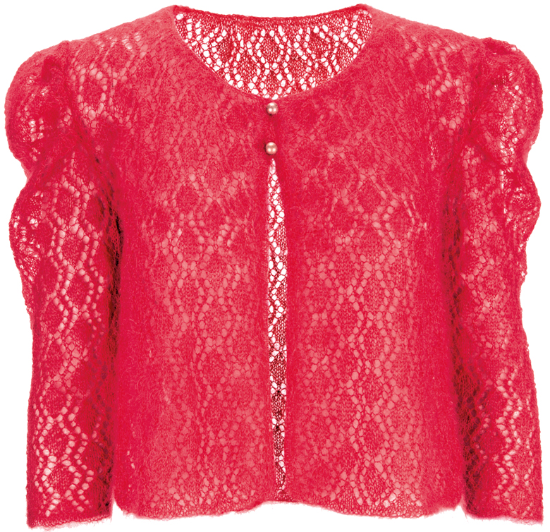 Lace Cardigan Knitting Pattern : How To Knit: 5 top tips when knitting with Mohair Yarns