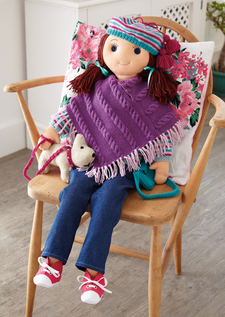 How to: Make the perfect knits for our Rebecca Rag Doll - 3 super ...