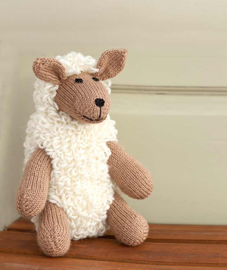 9e2c02327dae22 woman s weekly knitted sheep pattern
