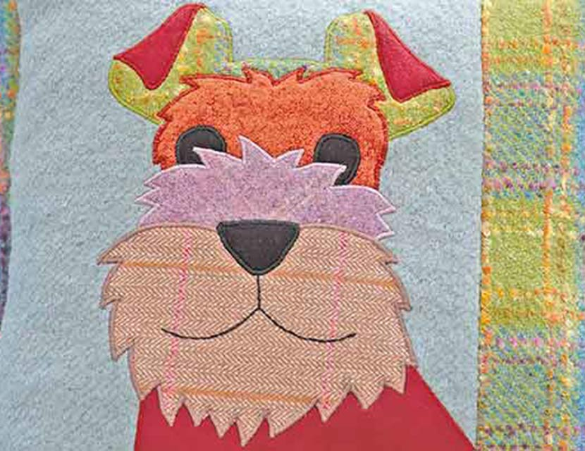 Designs Stand Out : How to make your applique designs stand out
