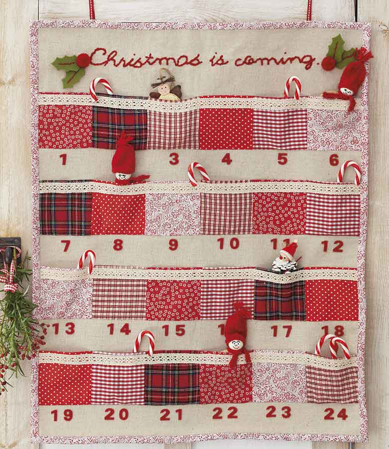 Sewn Advent Calendar Ideas : Homemade advent calendar ideas