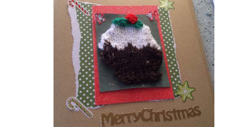 Knitting Pattern For Christmas Pudding Jumper : How To Make: Christmas animal cards