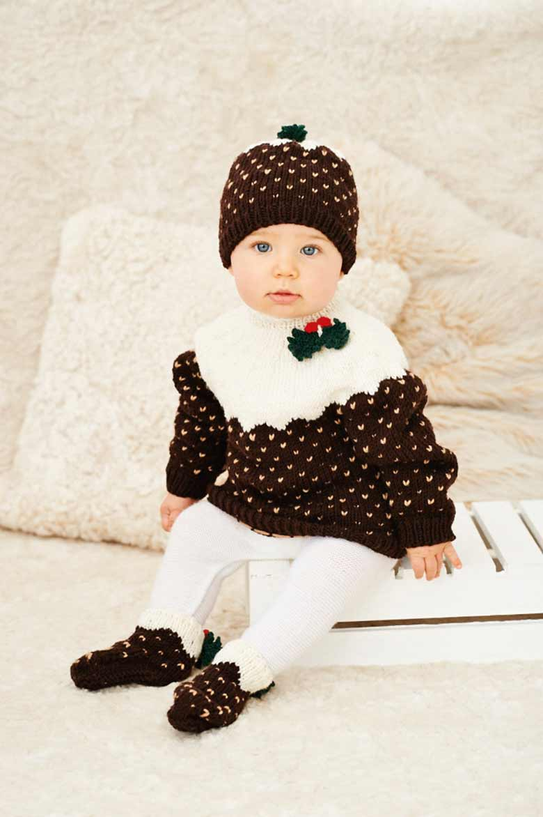 womans-weekly-christmas-pudding-baby-set-issue-49