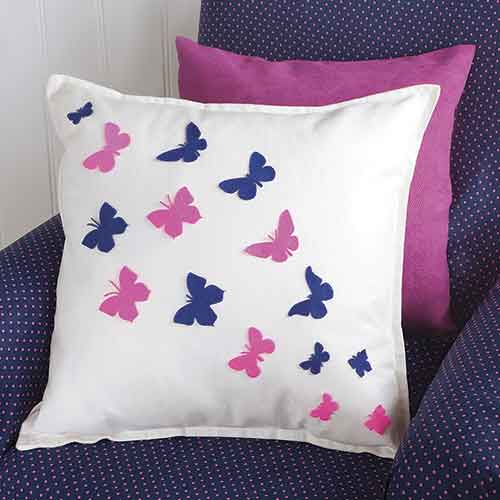 how to make a cushion cover with a die cutter. Black Bedroom Furniture Sets. Home Design Ideas