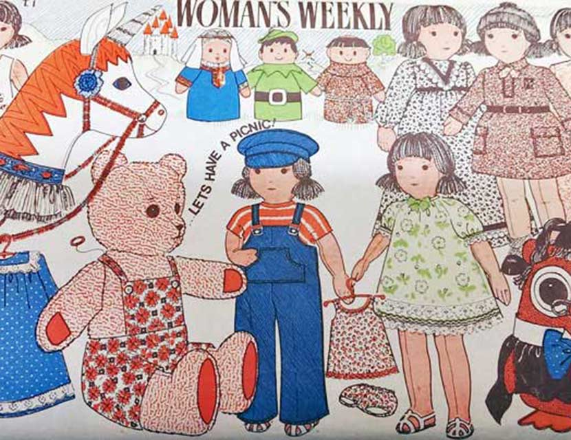 Do you have a vintage Woman\'s Weekly sewing pattern? We need your help!