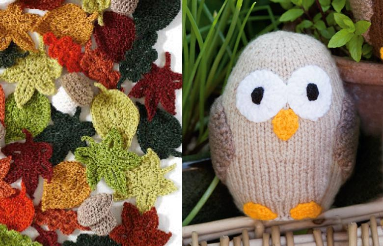 Knit, crochet and sew in aid of the Woodland Trust