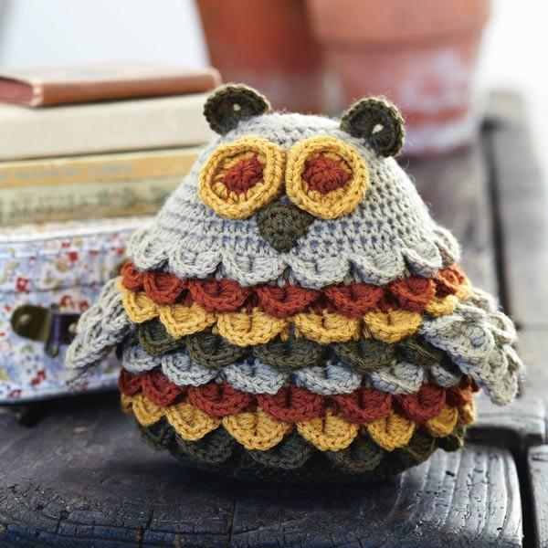 Modern Knit Owl Pattern Free Ornament Knitting Pattern Ideas