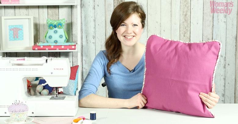 Как сделать подушку с кантом | Женский еженедельник | Ремесло | Шитье