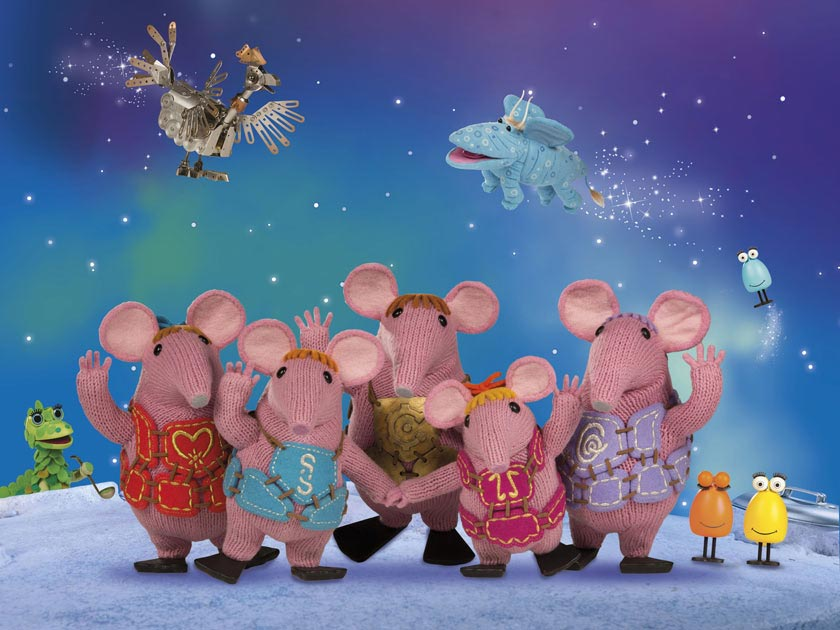 The Clangers Knitting Pattern : Clangers return with free knitting pattern
