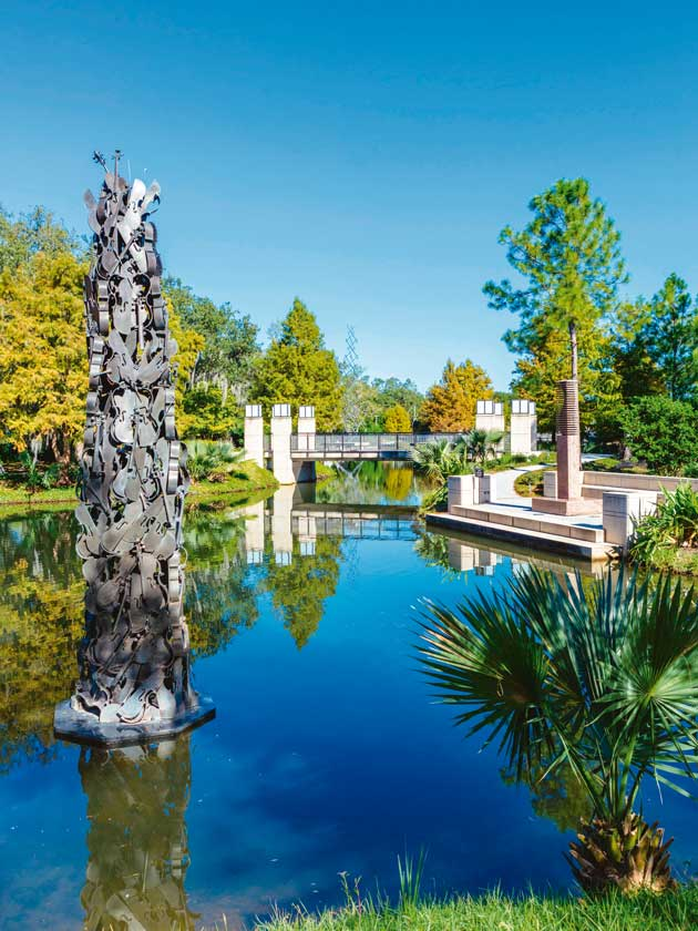Discover new orleans jazz with our city guide - Sydney and walda besthoff sculpture garden ...