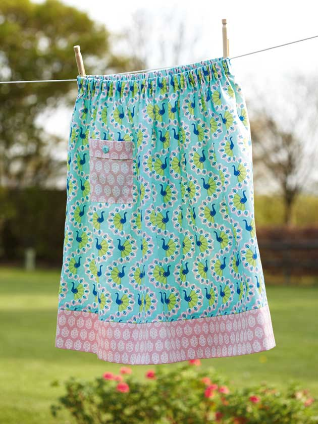 How to make a girls skirt to fit any size