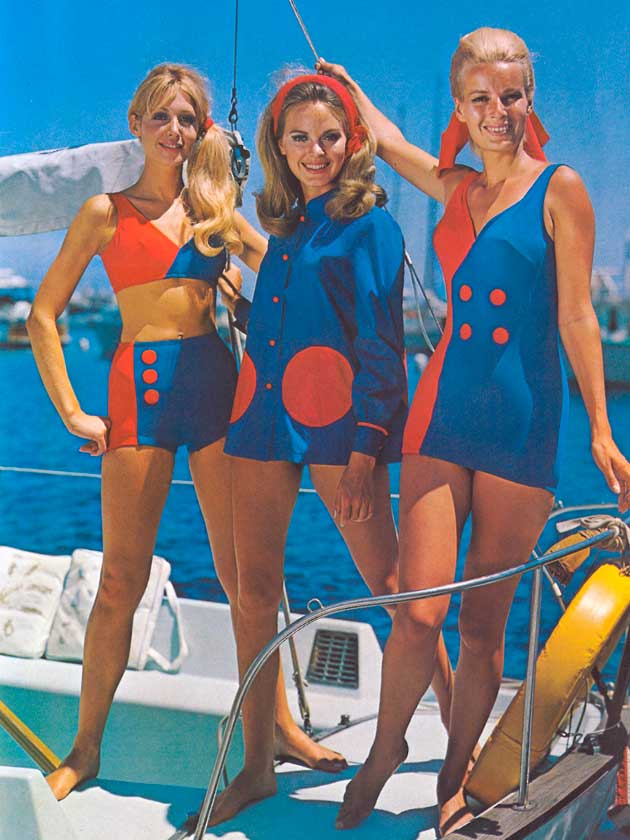 fde8d9c59949d Fashion Exhibition  Vintage swimwear and style on the English riviera