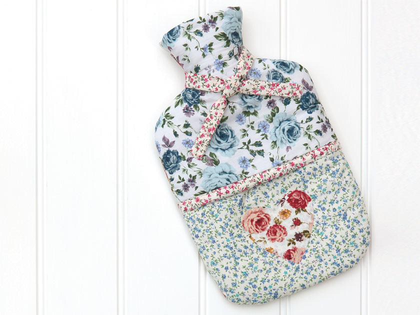 How to make a hot-water bottle cover