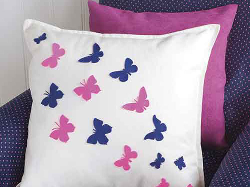 How To Make A Erfly Cushion