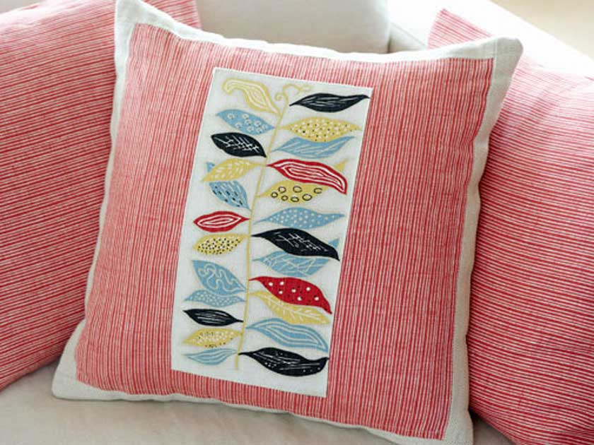 How To Make Cushion Cover Design: How to make a cushion cover,