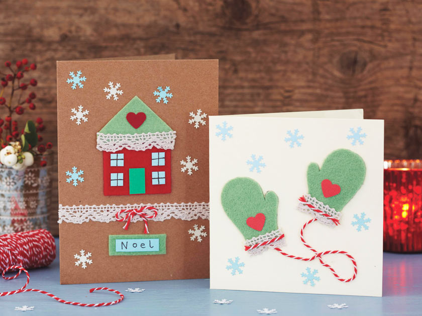 how to make christmas cards - Christmas Images For Cards