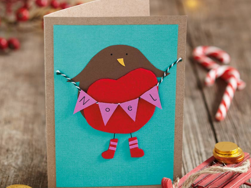 How To Make: Christmas animal cards
