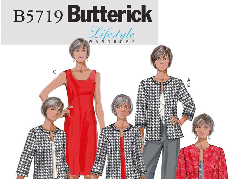 How to make a dress with pattern B5719 by Butterick