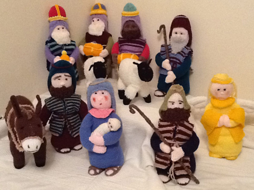 Knitted Nativity Scene Free Pattern : Nativity scene pattern thats perfect for Christmas