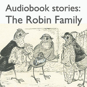 Audiobook The Robin Family Robins