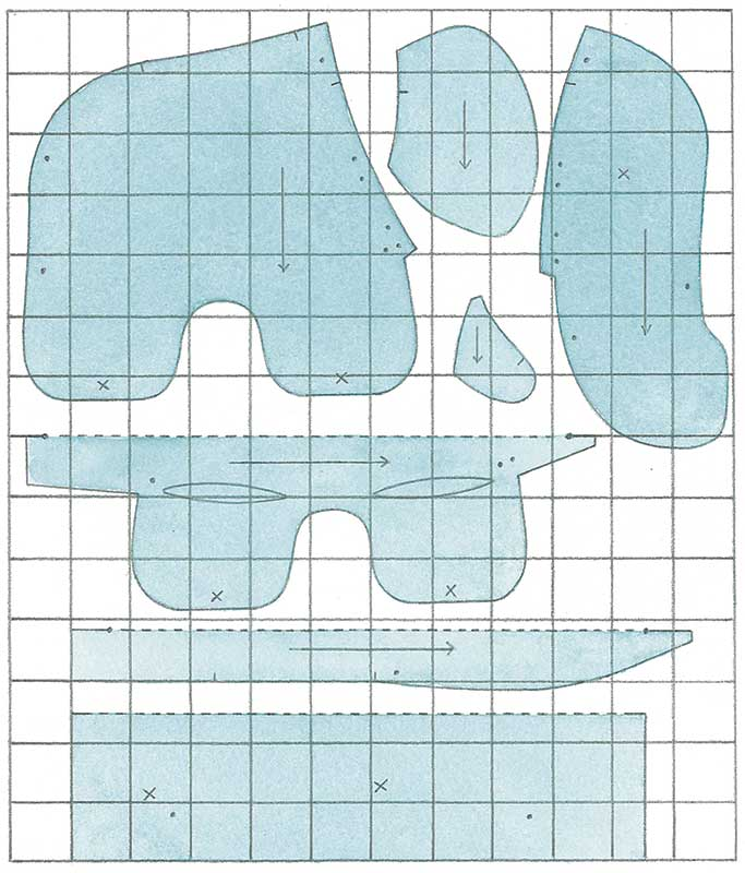 Sewing Pattern Elephant Images - origami instructions easy for kids