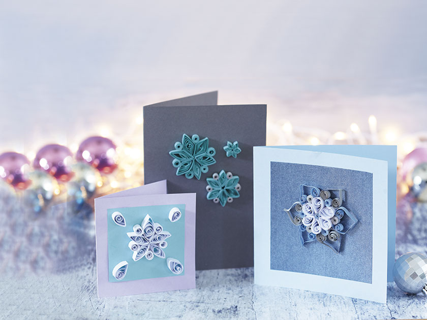 How to make paper quilling christmas cards for How to make your own quilling paper