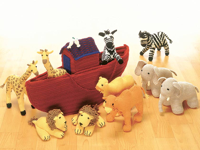 Best Noah\'s Ark toy knitting pattern to make at home