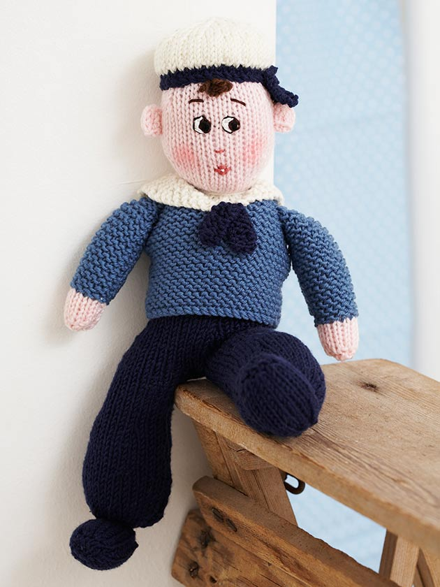 Delightful Doll Patterns You'll Love To Make At Home New Knitted Doll Patterns