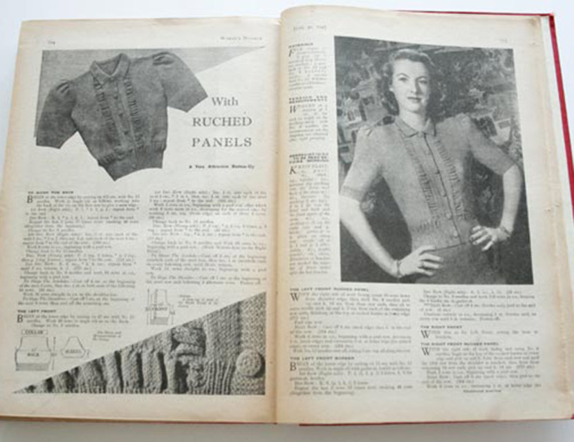How to rework vintage knitting patterns