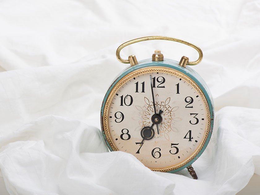 Keep abreast of the clocks going forward