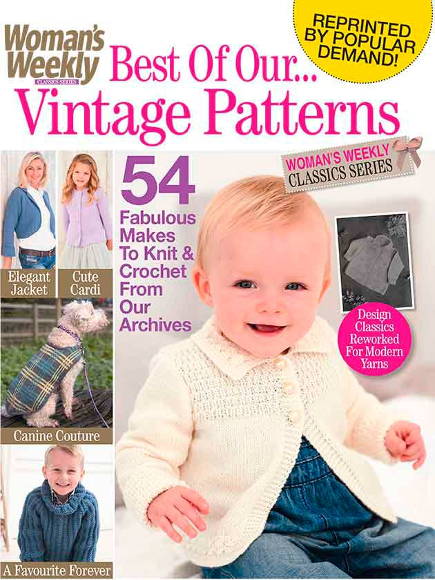 Woman s Weekly Knitting Patterns : Womans Weekly Best Of Our Vintage Patterns Bookazine - Womans Weekly