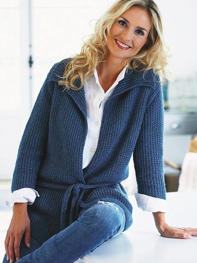 Stay Cosy With A Pretty Jacket Knitting Pattern