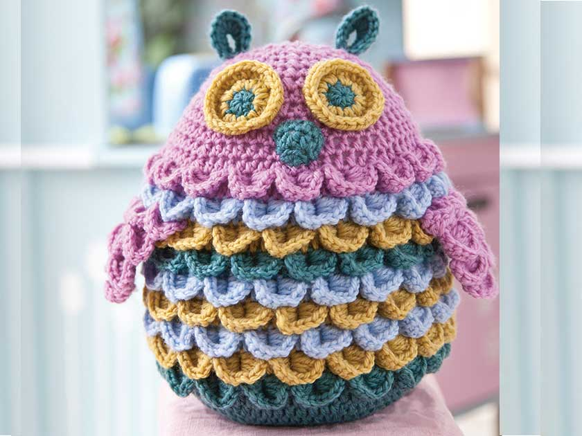 Large toy owl crochet pattern