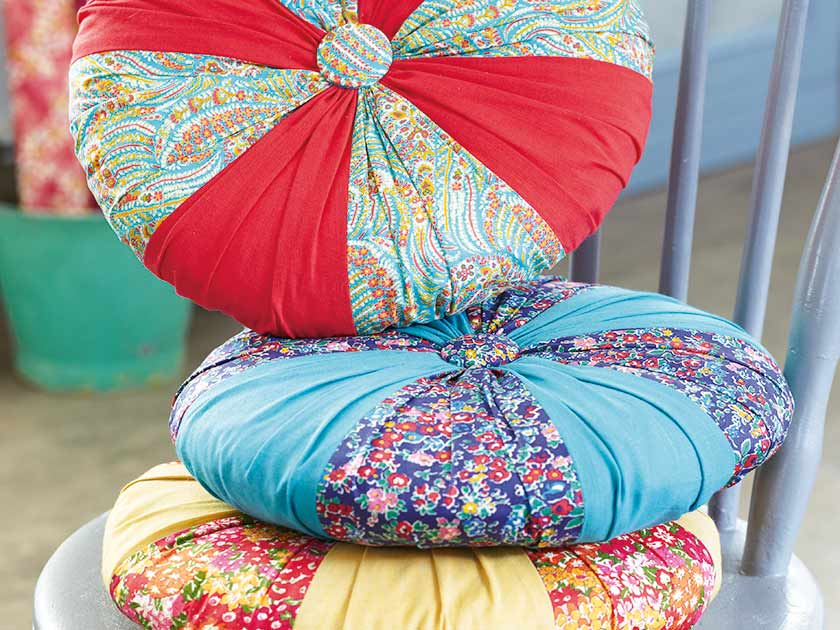 Round Cushion Covers To Sew