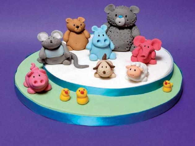 Ann Pickard animal cake NEC Birmingham