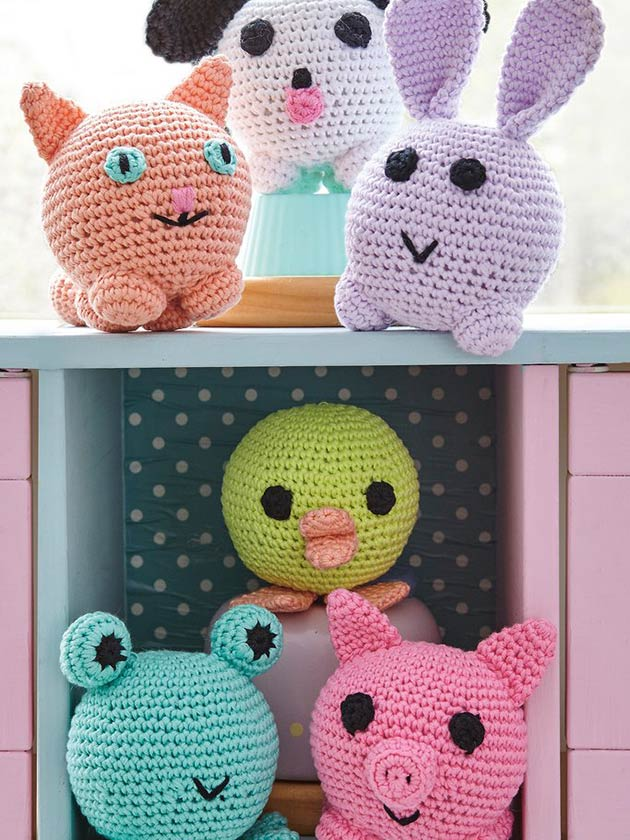 Top 25 amigurumi crochet patterns - Gathered | 840x630