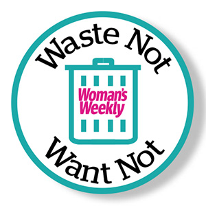 Waste Not Want Not logo campaign logo