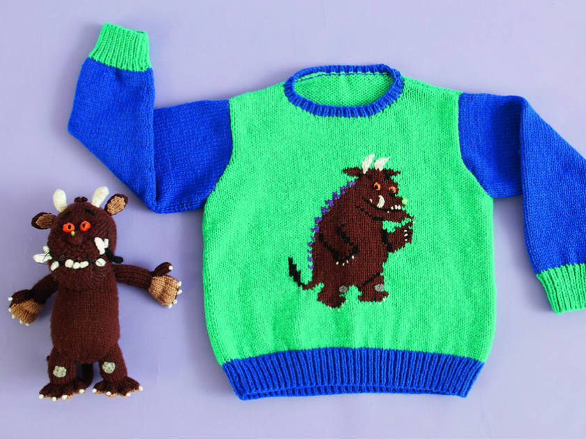 Knitting Websites Uk : How the gruffalo became a character kids love
