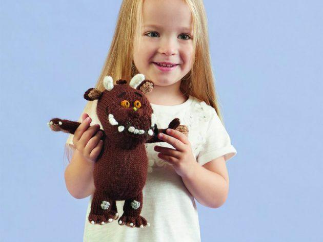 Gruffalo Toy Knitting Pattern