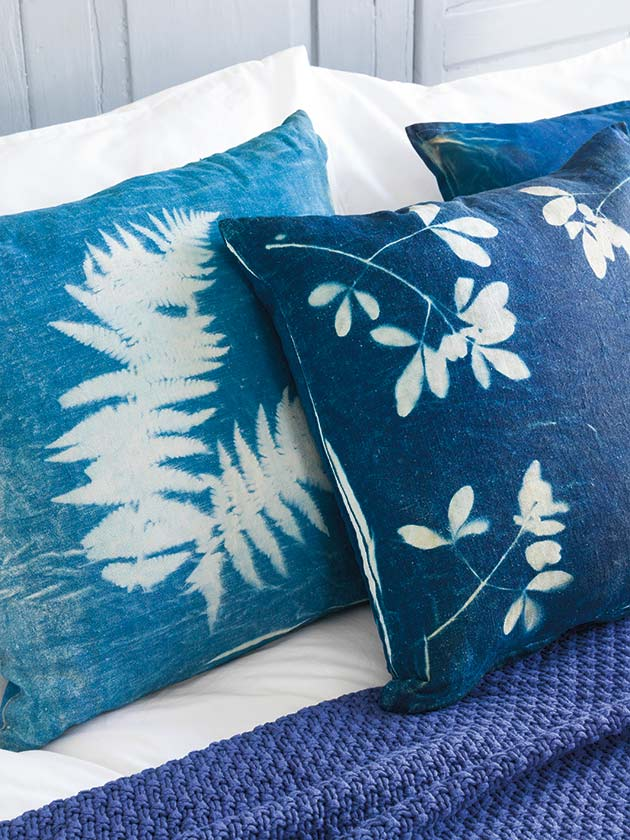 Make Cyanotype Decorations For Your Home Woman S Weekly