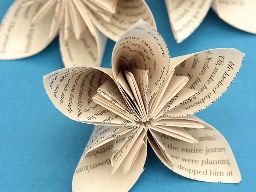 Fun craft projects using old books womans weekly flowers made from old books mightylinksfo